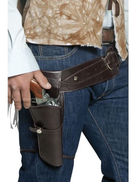 Wild West Authentic Western Gunman Belt & holster